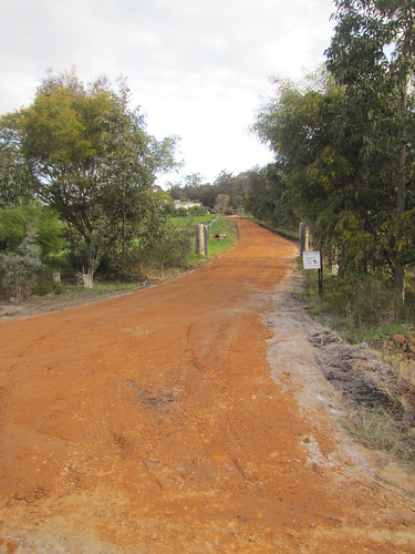 Driveway Construction, Final Stage - Red Moon Sanctuary, Redmond, Western Australia | by Red Moon Sanctuary