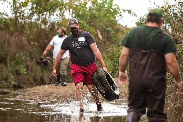 Fisheries & Wildlife: Prairie Creek Cleanup | 10/9/20