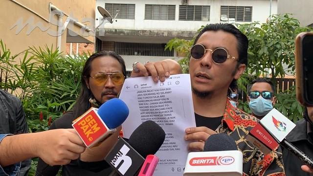 Syamsul Yusof Buat Laporan Polis Selepas Terima Ugutan