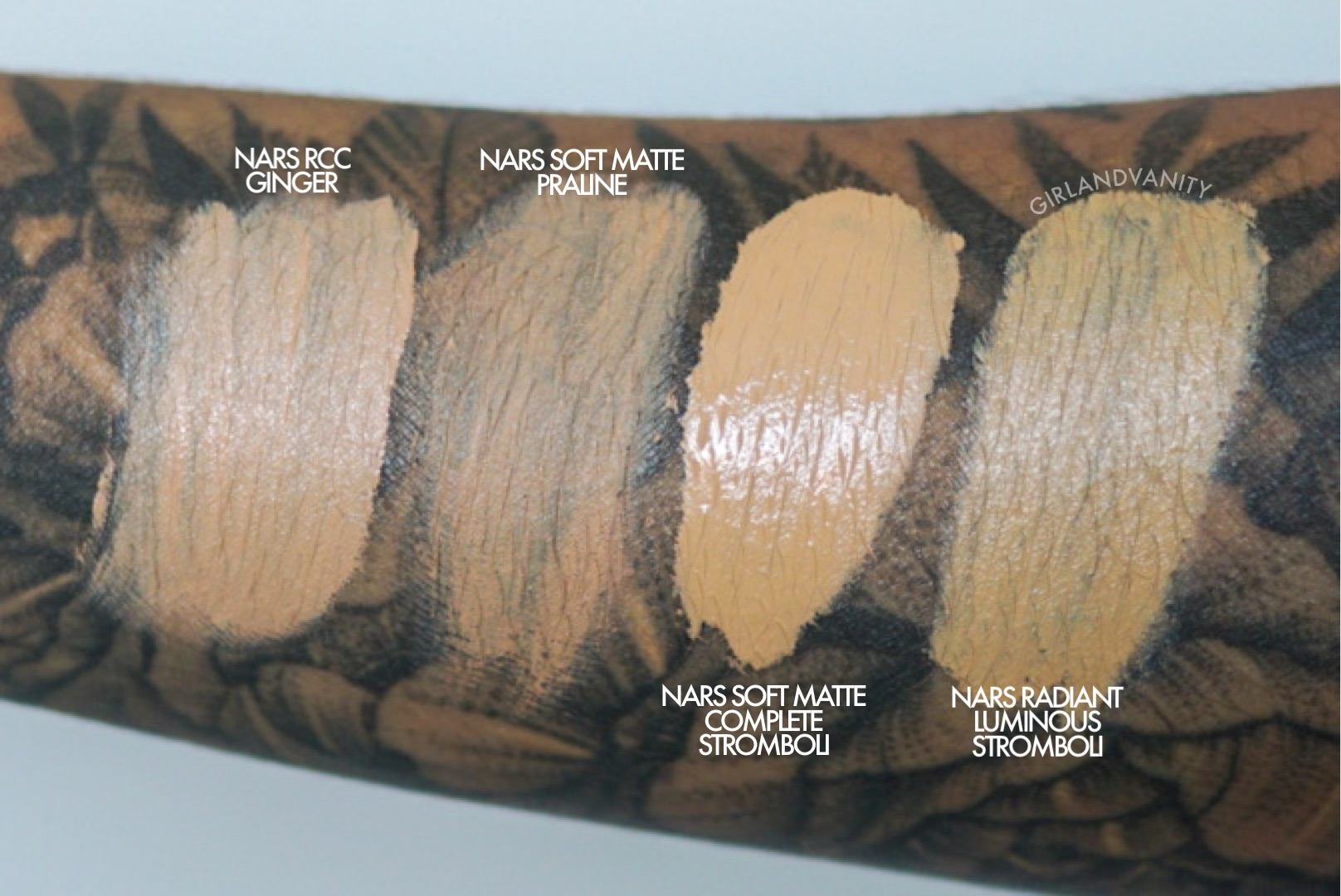 Review Nars Soft Matte Complete Foundation And Concealer