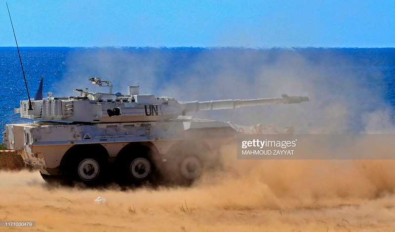 Centauro-unifil-firing-exercise-20190925-gty-1