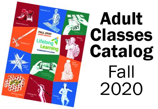 Adult Fall Classes Catalog