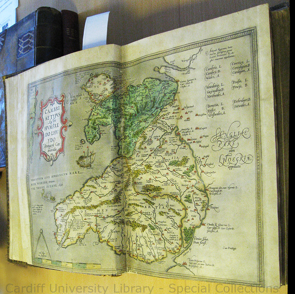 Ortelius Map of Wales