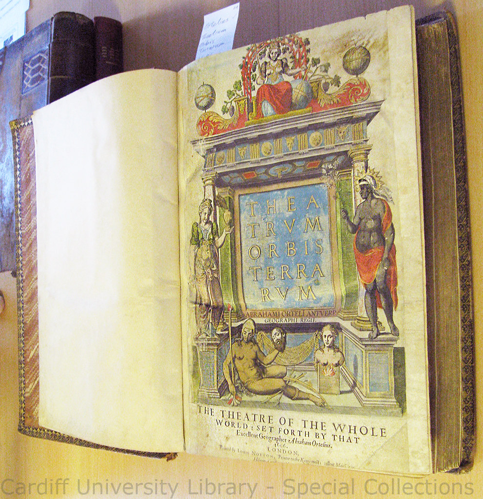 Abraham Ortell Atlas Frontispiece