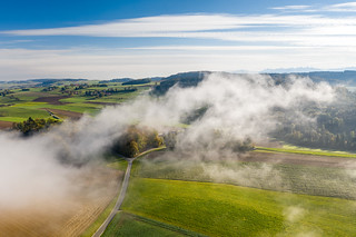 Above the fog | by Myriam Spitz Mooser