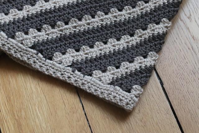 Cosy Stripe C2C Blanket