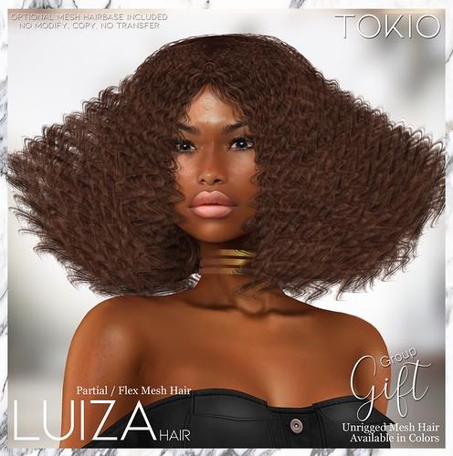 TOKIO Hair - LUIZA Alpha Hair - Group Gift @Mainstore!