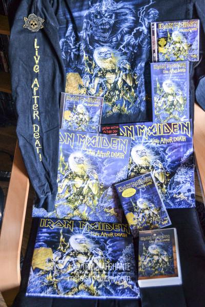 """Iron Maiden: 35 años de """"Live After Death"""""""