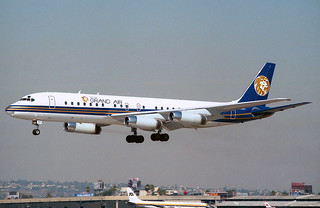 N803MG Douglas DC-8-62 MGM Grand Air