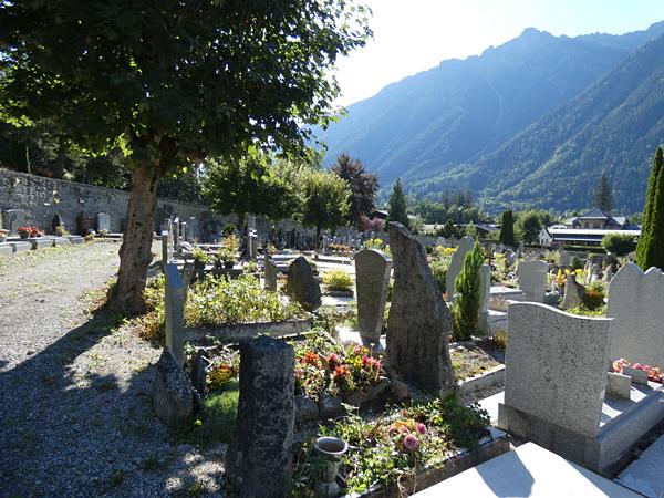 cimetière chamonix