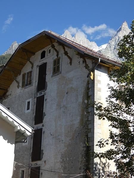 vieille maison Chamonix