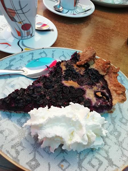 tarte à la myrtille glacier