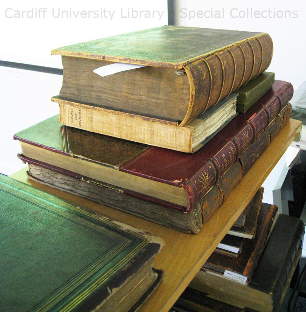 Incunabula Stack of Books