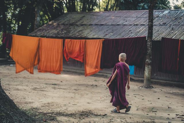 চিৎমরম বৌদ্ধ বিহার - Chitmaram Bouddho Bihar -  Kaptai, Chittagong