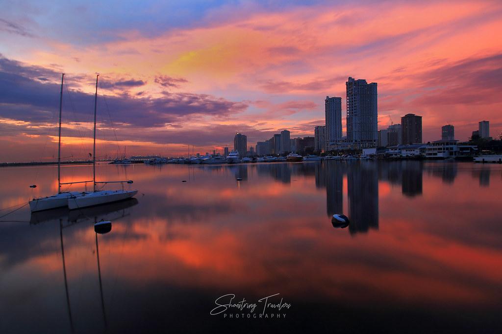 Harbor Square Sunset