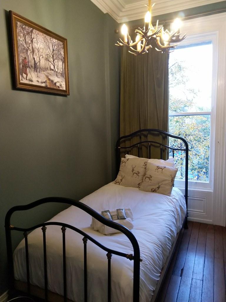 Single room at The Harrison Hotel, Belfast