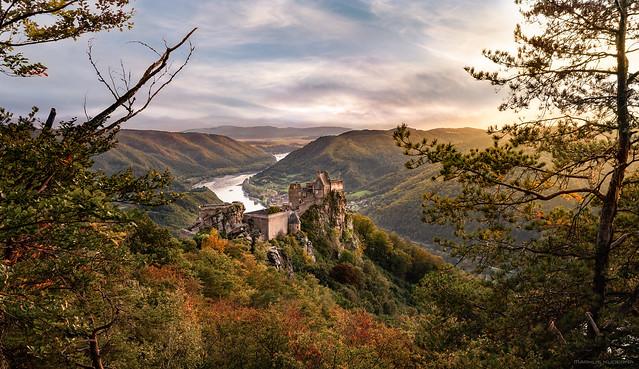 Aggstein Castle - autumn