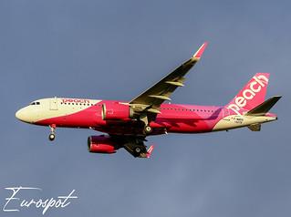F-WWDQ Airbus A320 Neo Peach Air