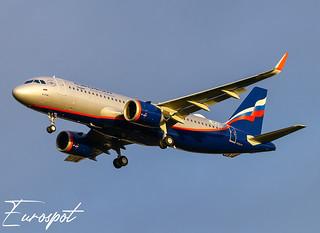 F-WWDZ Airbus A320 Neo Aeroflot