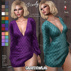 Wooly Dress Ad