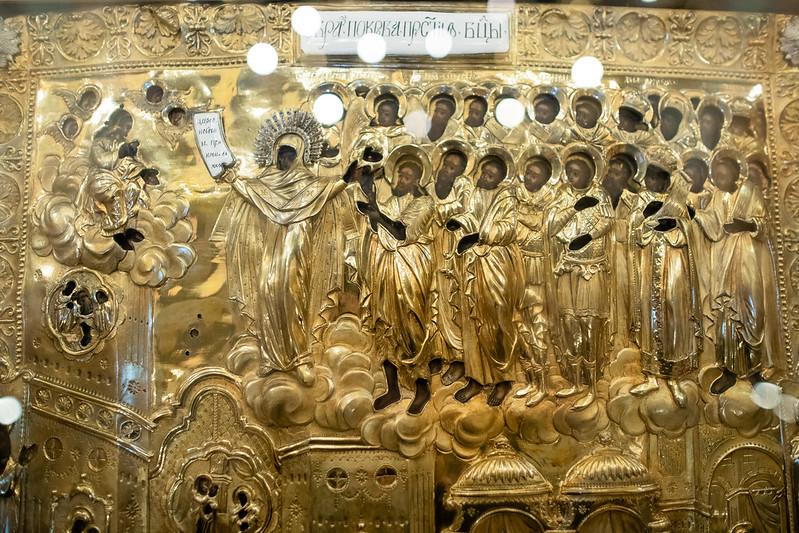 13 октября 2020, Всенощное бдение накануне праздника Покрова Пресвятой Богородицы / 13 October 2020, Vigil on the eve of the Intercession of the Theotokos