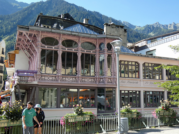 art nouveau Chamonix