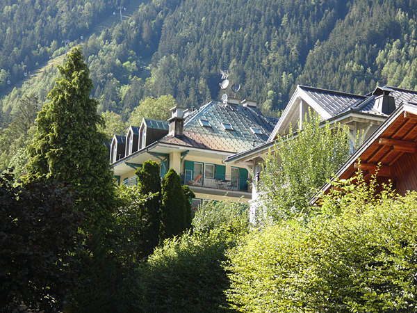 jolie maison chamonix