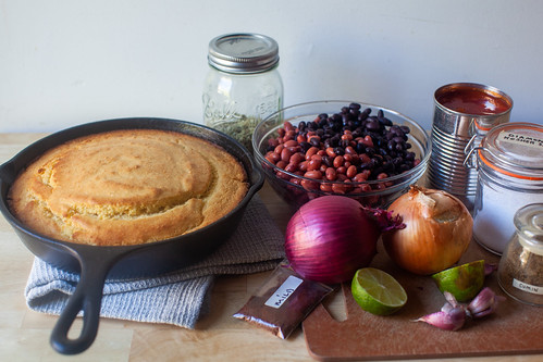what you'll need (cornbread optional, but not for us) | by smitten kitchen