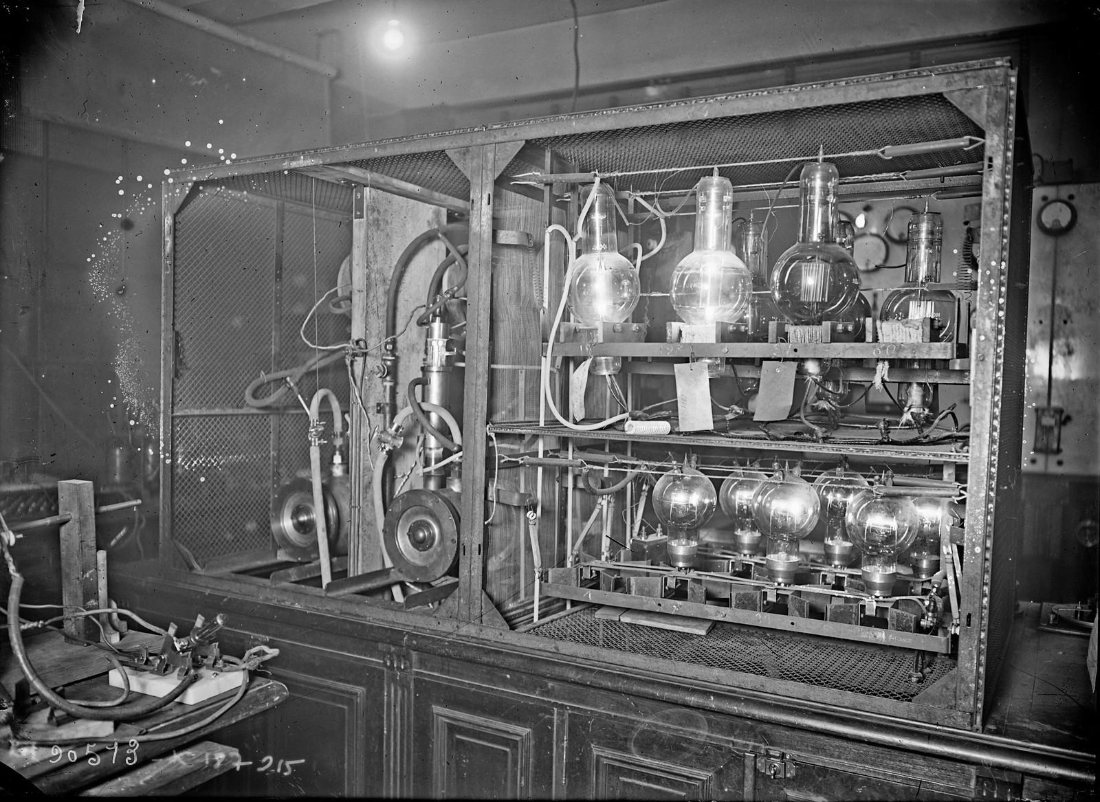 07. 1924. Беспроводное телеграфное оборудование «TSF»