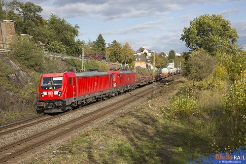 187 104 + 193 335 . DB Cargo . 51847 . Feldkirchen . 10.10.20.