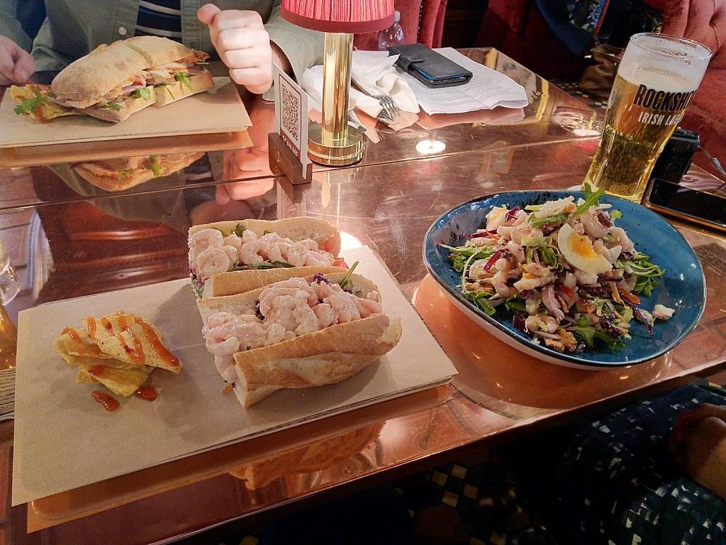 Lunch at the Dark Horse, Belfast