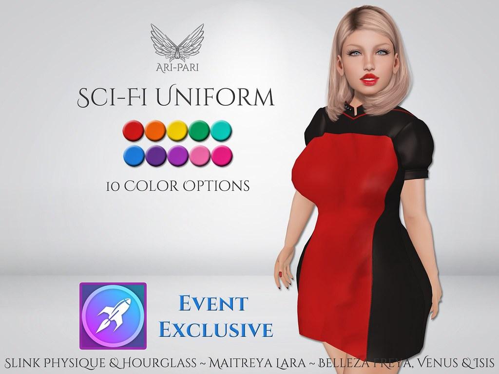 [Ari-Pari] Sci-Fi Uniform