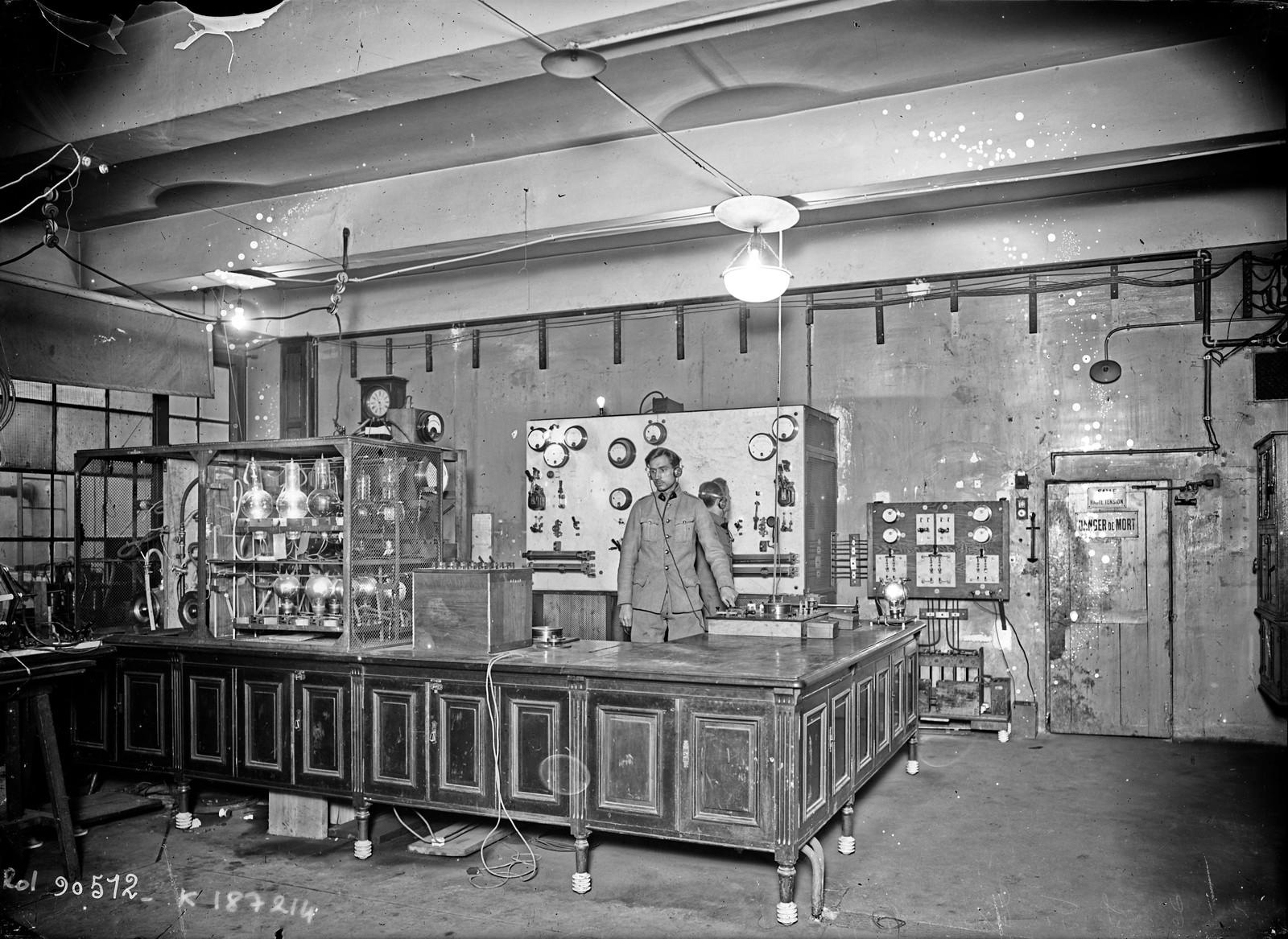 05. 1924. Беспроводное телеграфное оборудование «TSF»