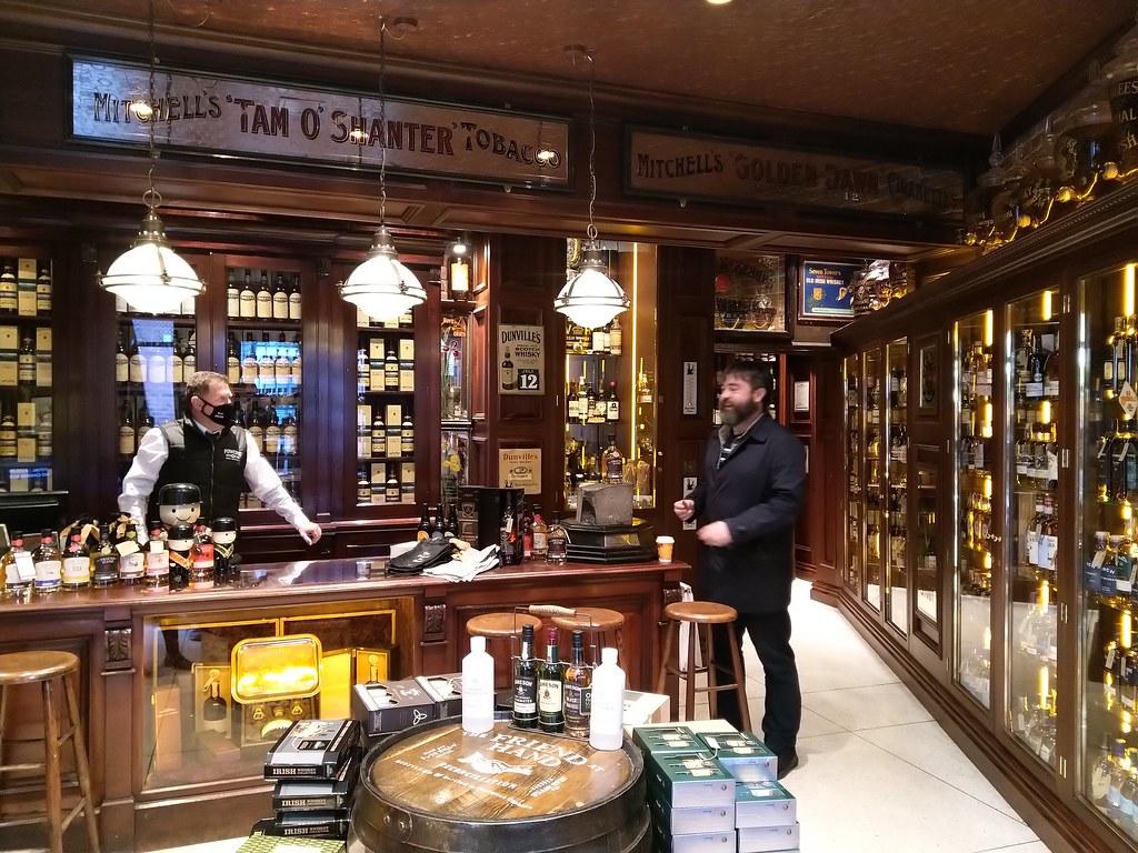 Friend at Hand Irish Whiskey Shop, Belfast