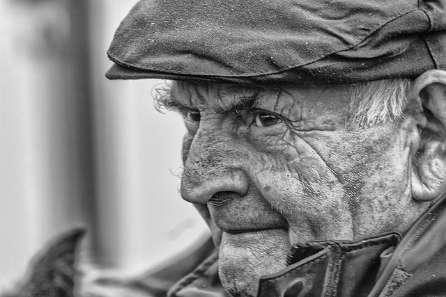 Alert older gent