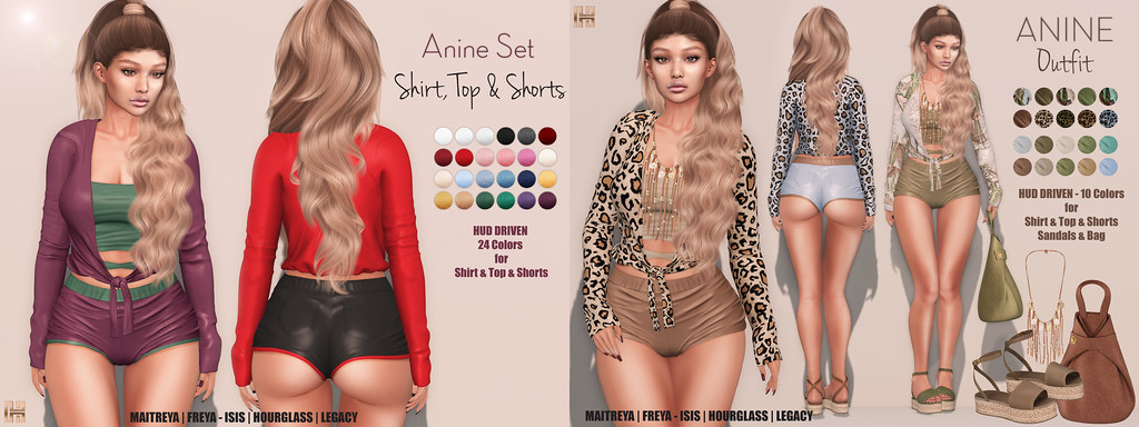 Hilly Haalan – NEW Anine Set & Outfit
