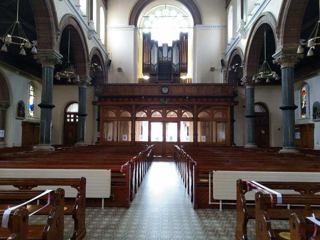 Interior of St. Patrick's RC Church, Belfast