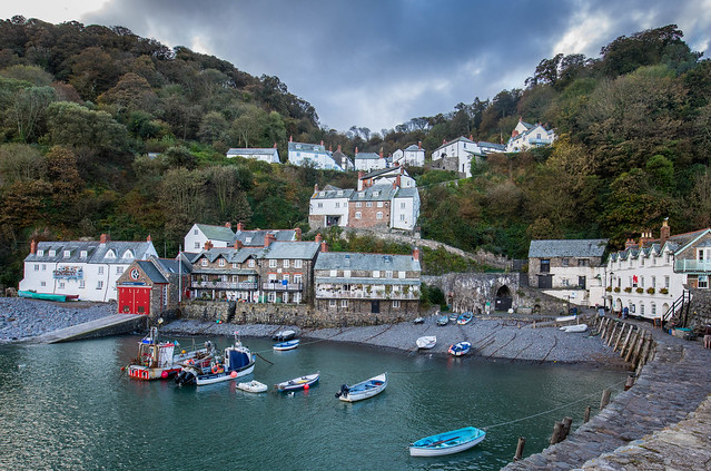Clovelly Harbour 4-