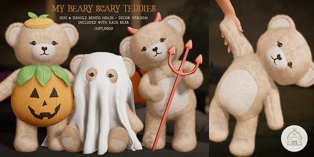 hive // my beary scary teddies | satan inc