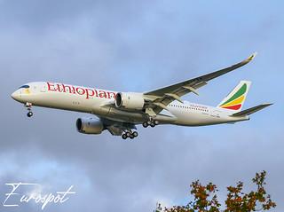 F-WZNT Airbus A350 Ethiopian
