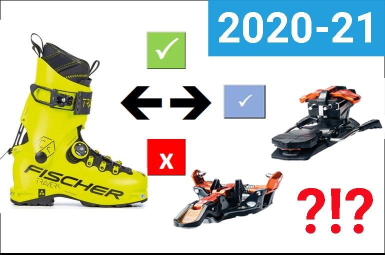 Kompatibilita boty - vázání 2020-21