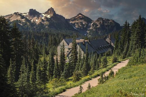 mtrainier sunrise nikond810 nature landscape louisruthphotography sigma50mmf14art mountain scape