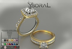 ~~ Ysoral ~~ .:Luxe Engagement & Wedding Ring Ashley:.