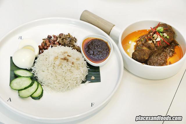 the loaf nasi lemak rendang