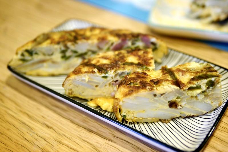 西班牙式馬鈴薯蛋餅