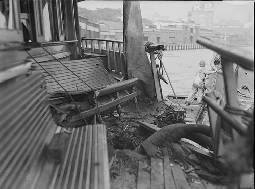 Ferry collision, the Kiandra, Sydney, 1 May 1930, | by State Library of New South Wales collection