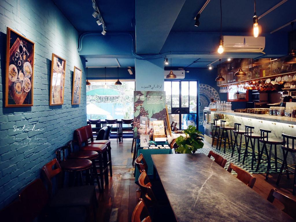 台北網美必拍異國咖啡館Saturn Landing Turkish Coffee登陸土星土耳其咖啡永康街不限時餐廳 (1)