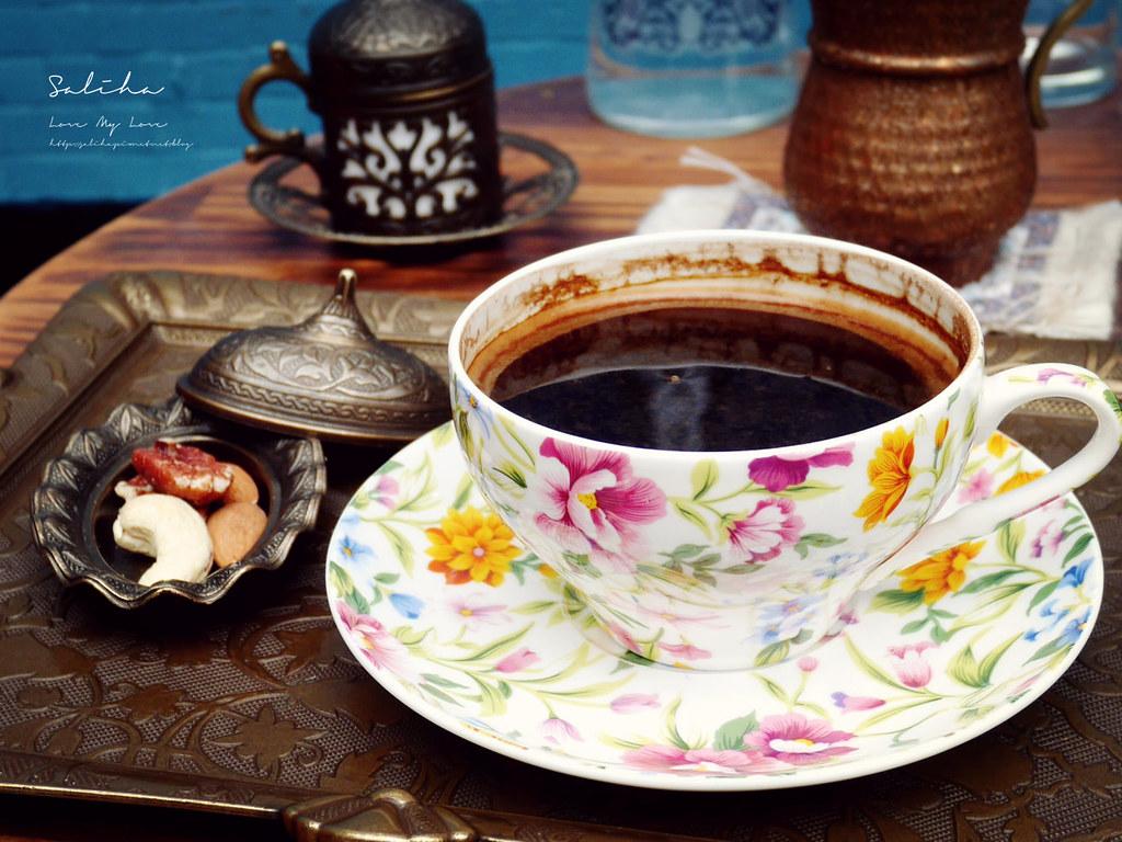 台北特色咖啡廳推薦Saturn Landing Turkish Coffee登陸土星土耳其咖啡永康街下午茶 (1)