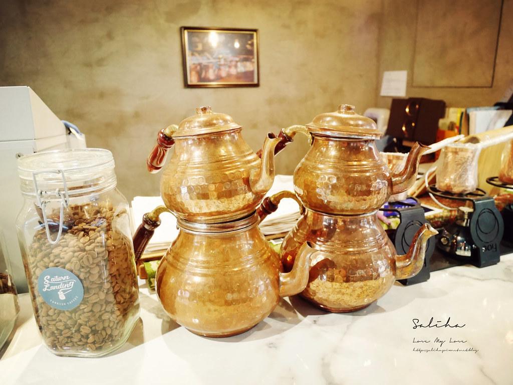 台北不限時咖啡廳推薦Saturn Landing Turkish Coffee登陸土星土耳其咖啡占卜 (3)