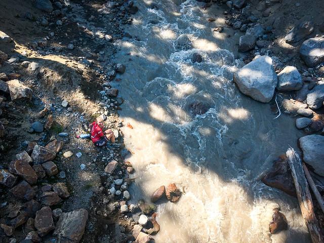 Day 1 - Murky Water Stops on Adams Creek